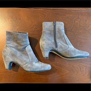 Sam Edelman Grey Suede Boots